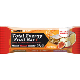 NAMEDSPORT Total Energy Caja Barritas Fruta 25 x 35g, Tango